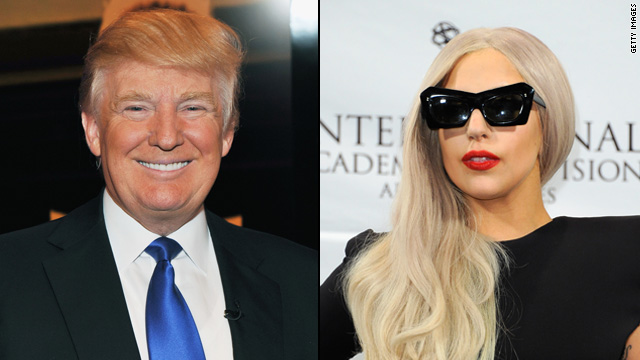 Trump takes credit for Lady Gaga's stardom?