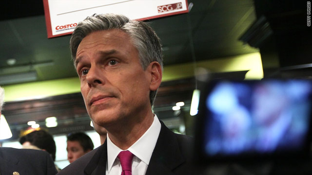 Huntsman sails around climate change