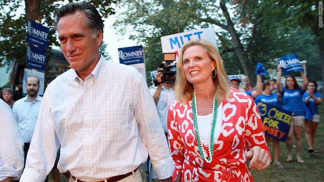 You can count on my husband, Ann Romney says