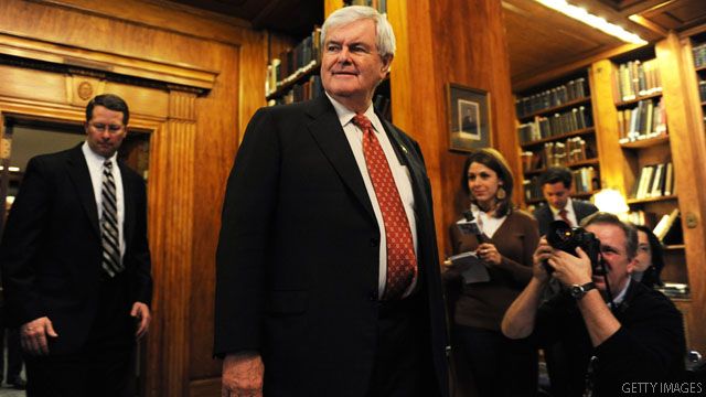 Voters back Gingrich, but say there's a 'chance' for Romney