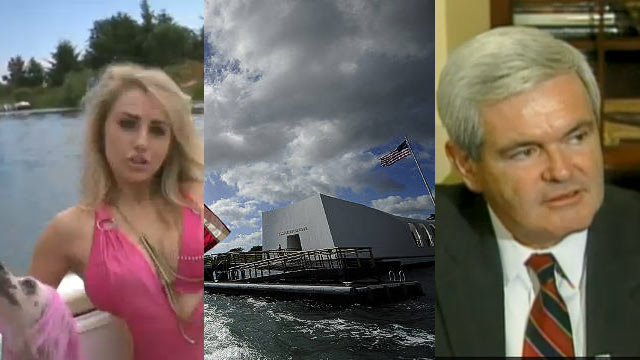 The AC360 Weekly Buzz: Student with HIV rejected, Gingrich, Syria, Pearl Harbor, Sandusky, Heroes, Courtney Stodden