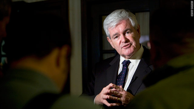 'Take Back the Capitol' protesters target Gingrich fundraising event