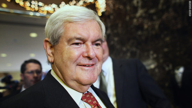 CNN Poll: Gingrich front-runner in 3 of first 4 states to vote