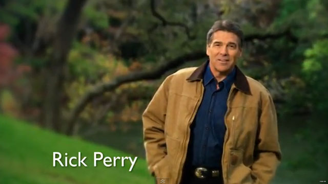 New Perry ad derides Obama&#039;s &#039;war on religion&#039;