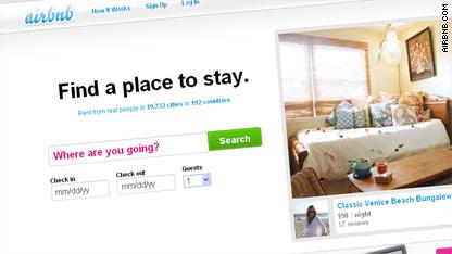 ¿El sitio Airbnb asusta a la industria hotelera?