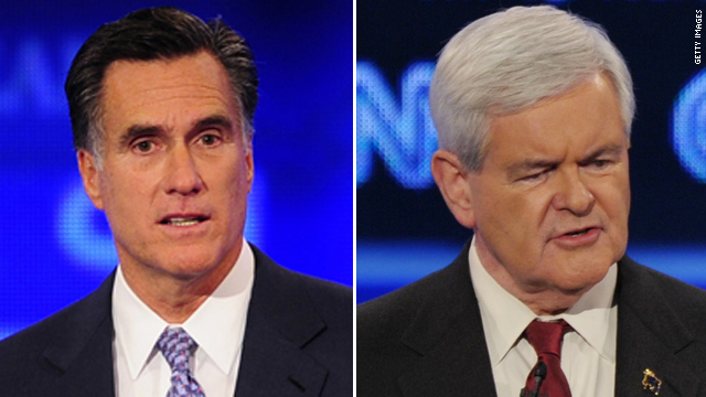 Romney jabs Gingrich over space ideas
