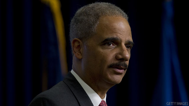 Holder to GOP critic: 'Have you no shame?'