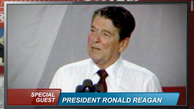 Reagan was for taxing millionaires, says new Dem ad