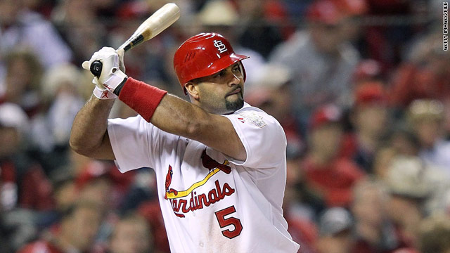 Reports: Slugger Pujols to join Angels