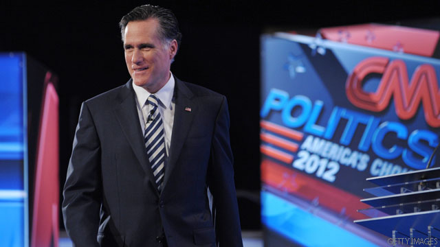 Romney hits a positive note in new radio ads