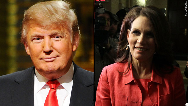Trump 'very disappointed' in Bachmann