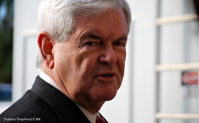 Gingrich won't use surrogates to go negative