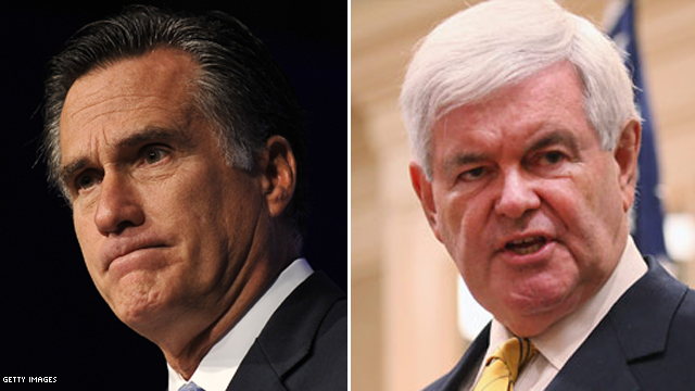 Romney to take on Gingrich at debate