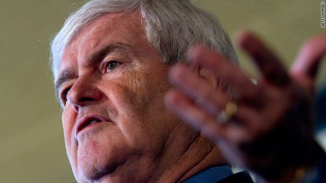 Palestinians attack Gingrich comment on 'invented' people