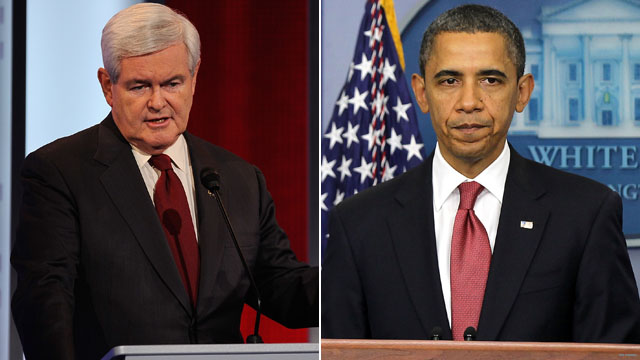 Poll: Good news for Gingrich and Obama in early states