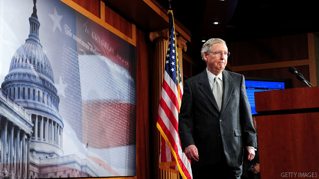 Senate GOP leader predicts a payroll tax deal