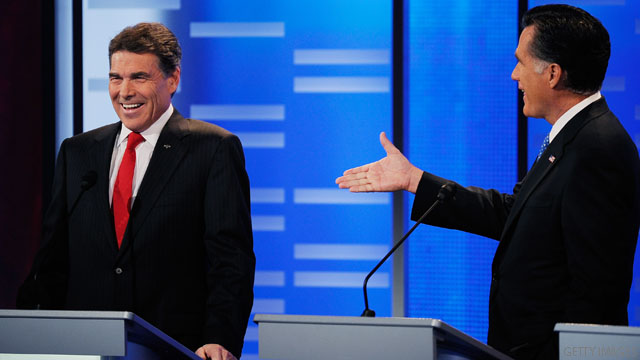 Romney's 'out of touch,' Perry says