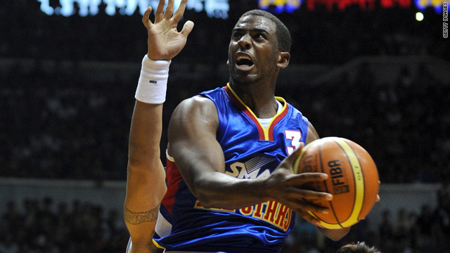 Report: NBA nixes Chris Paul trade to Clippers