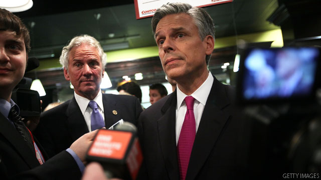 Huntsman piles on Paul