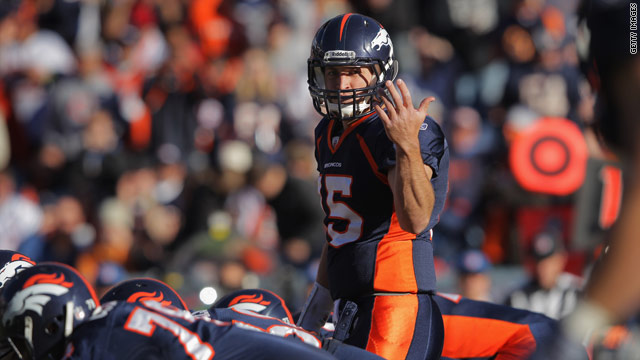 Tebow's success has commentators, fans discussing God's role in football