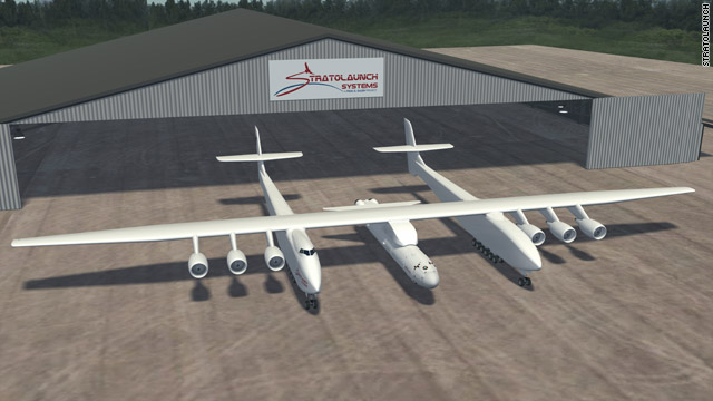 Microsoft co-founder announces Stratolaunch Systems