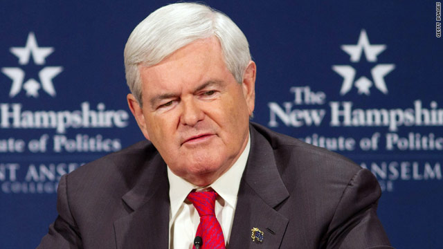 Gingrich 'editing' his words as campaign acknowledges concern