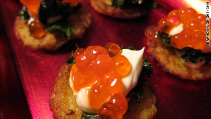 potato canape