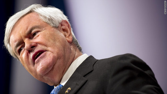 Gingrich under fire