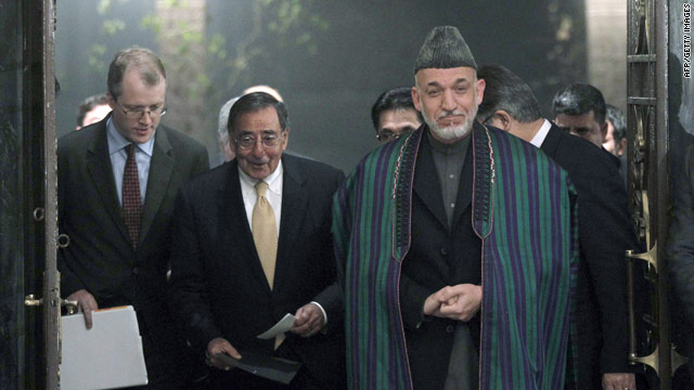 Karzai: Leave us out of your Iran mess