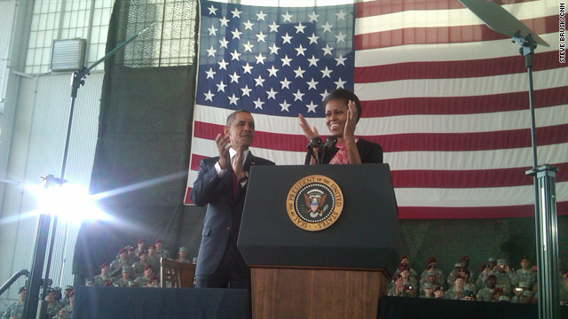 Obama welcomes troops home from Iraq