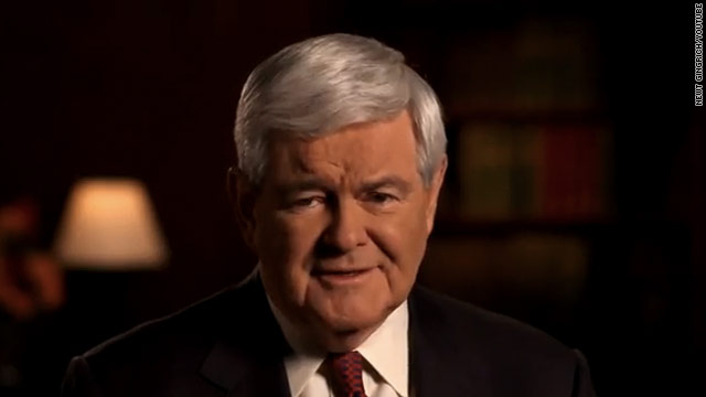 Gingrich stays positive in second campaign TV ad?