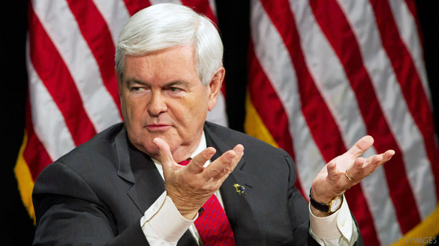 Gingrich backs bipartisan Medicare proposal