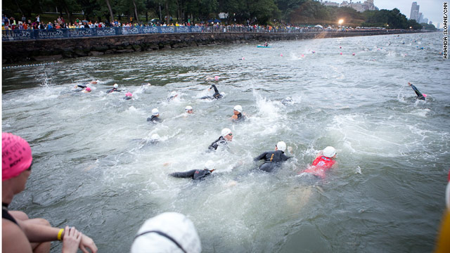 N.Y.C. triathlon adds swim requirement after deaths
