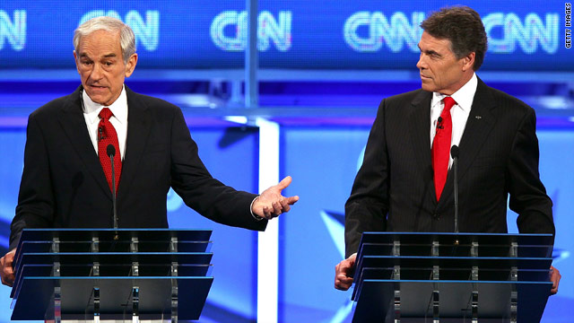 Perry 'taken aback' by Paul's comments on Iran