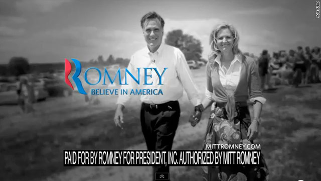 Romney's three ads with two messages