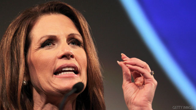 Bachmann: &#039;We&#039;re looking at a spiritual hurricane&#039;
