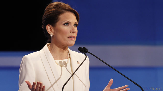 Bachmann labels Gingrich 'memory challenged'