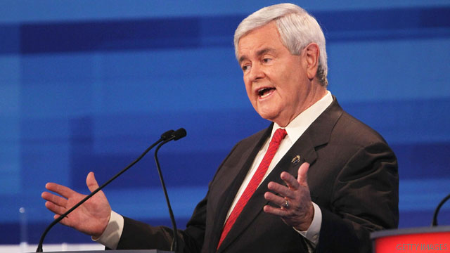 Truth Squad: Gingrich's claim on surplus off base