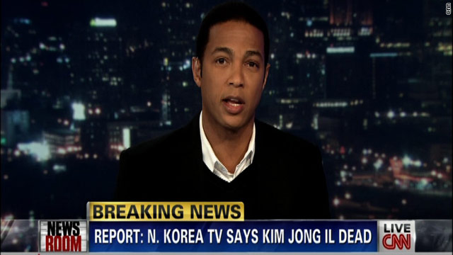 CNN Coverage: Death of Kim Jong Il
