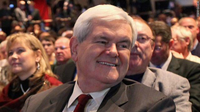 Gingrich wins Tea Party Patriots straw poll