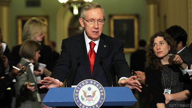 Reid: No more negotiations on payroll tax cut