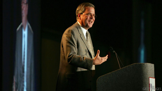 Who does Jeb Bush want for vice president?