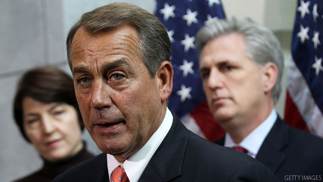 Boehner: House will reject Senate payroll tax plan