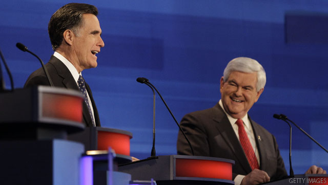 CNN Poll: Gingrich lead gone, dead even with Romney