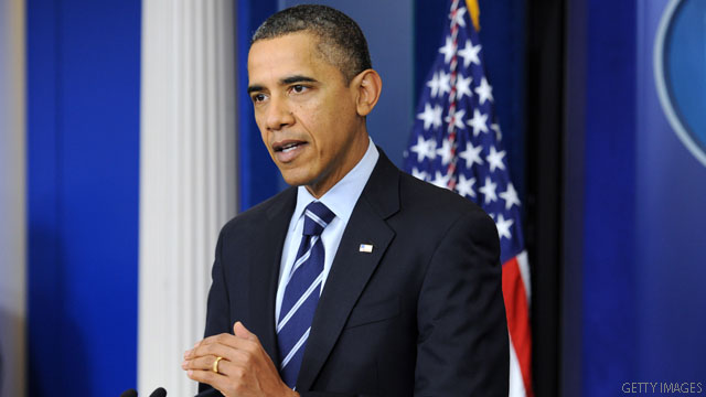Obama lauds payroll tax cut extension