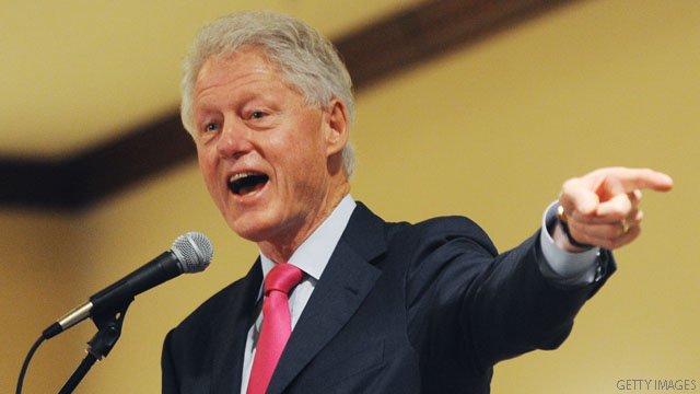 Bill Clinton: Gingrich shouldn't take all the credit