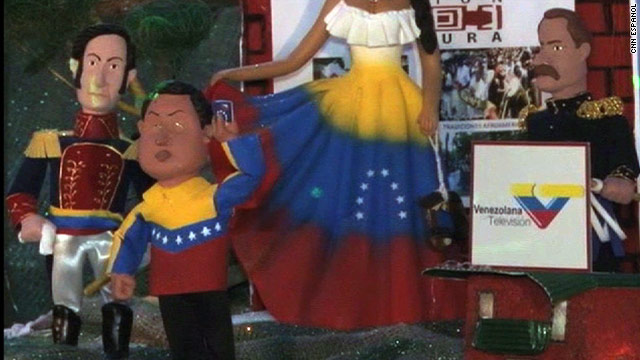 Politicized nativity scene stirs controversy in Venezuela