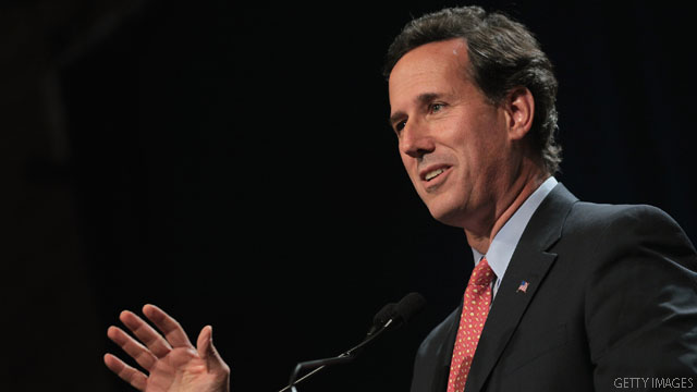 Santorum buying television time in New Hampshire