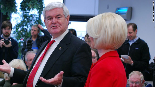 Gingrich: Super PAC hypocrisy