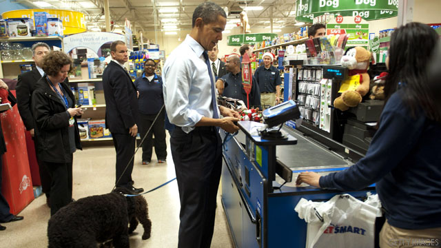 Obama's last minute holiday shopping trip
